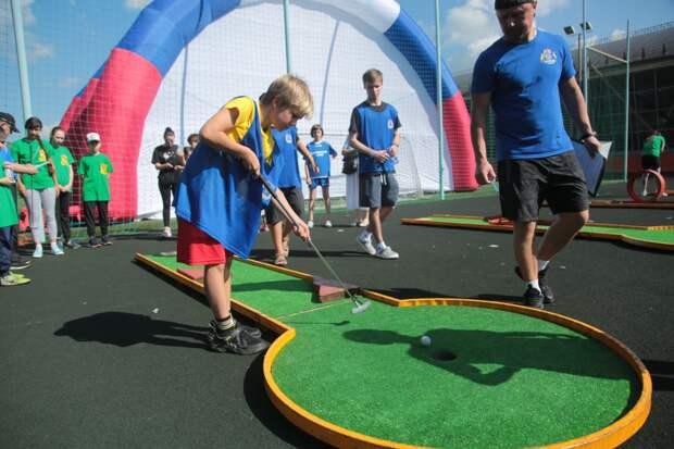 Видео: в СВАО состоялся грандиозный спортивный праздник