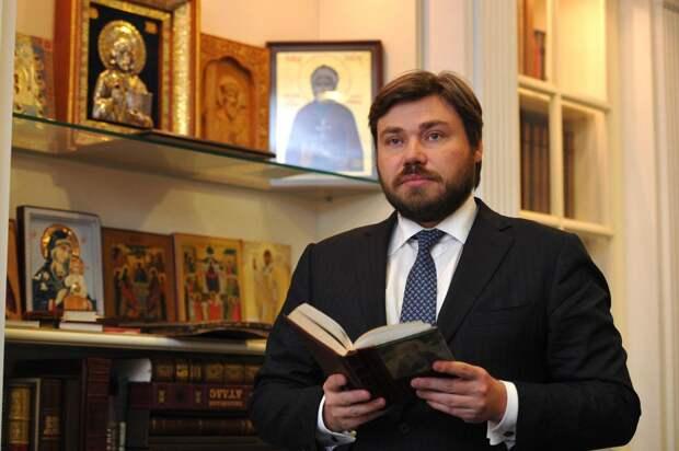 Малофеев попросил помощи ФСБ после массового минирования в его честь