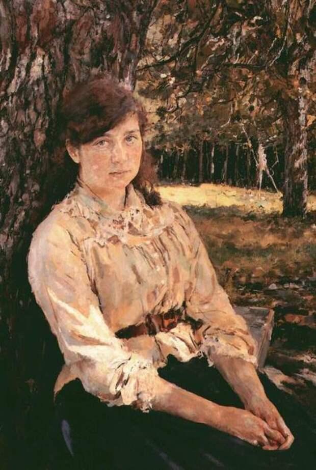 В. Серов. Девушка, освещенная солнцем, 1888 | Фото: gallerix.ru