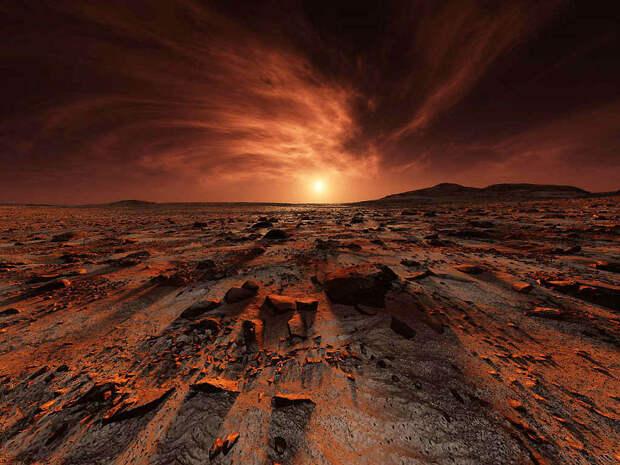 На Марсе между частицами пыли возникают электрические разряды
