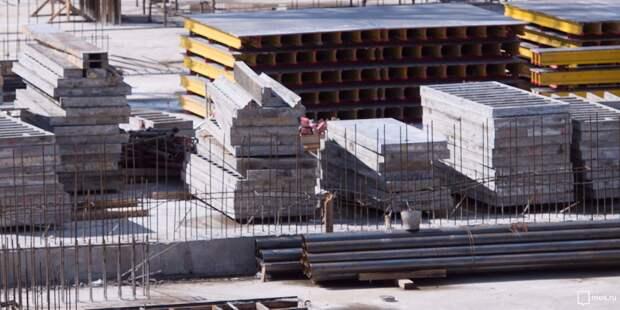 В Гостиничном проезде началось строительство дома по реновации