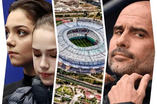 Загитова и Медведева не едут на Игры-2022, Стамбулу отдадут Суперкубок, Гвардиола отметил титул победой