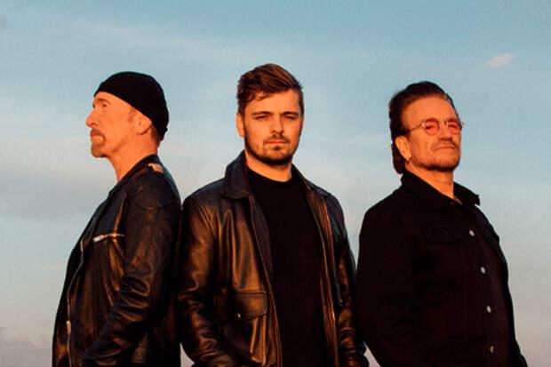 Мартин Гаррикс и U2 представили официальную песню ЕВРО-2020
