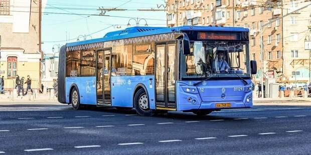 Маршрут автобуса № т29 временно изменился Фото: mos.ru