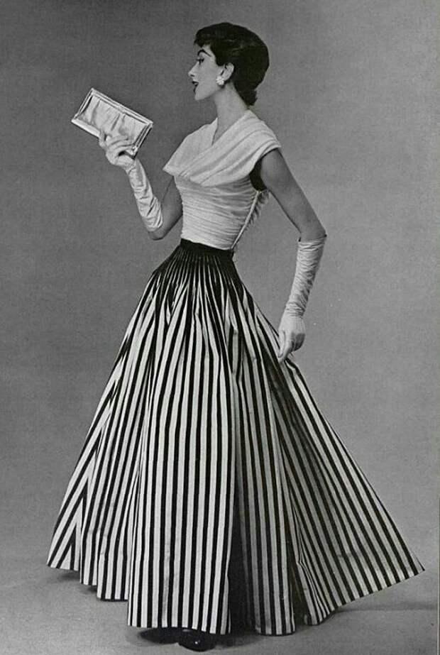 Полосатая юбка и́з 1950-х