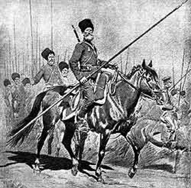Казачее войско в Пруссии. Эпизод Первой мировой войны