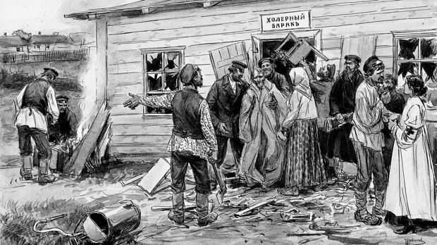 Три самых страшных эпидемии в истории России