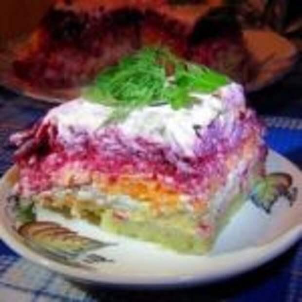 Салат из свёклы «Генерал» – очень вкусно
