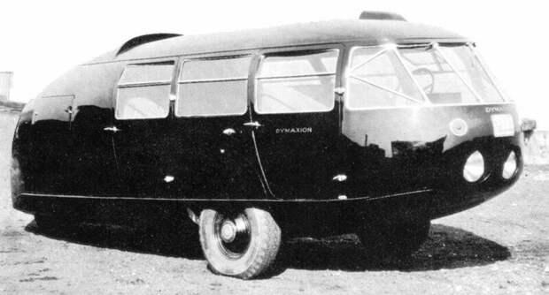 Второй модернизированный вариант «Димаксиона», сохранившийся до сих пор. 1934 год авто, автомобили, атодизайн, дизайн, интересный автомобили, олдтаймер, ретро авто, фургон