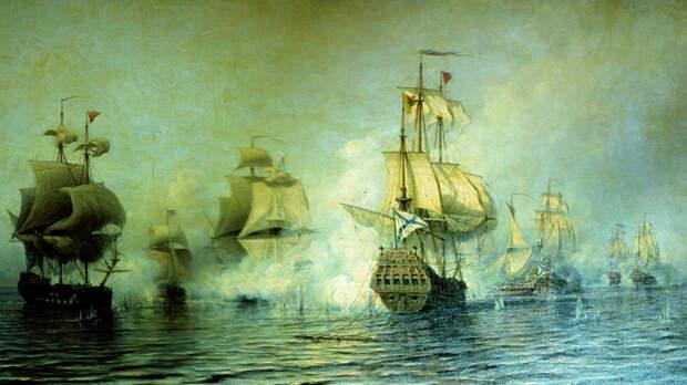Первая победа русского флота