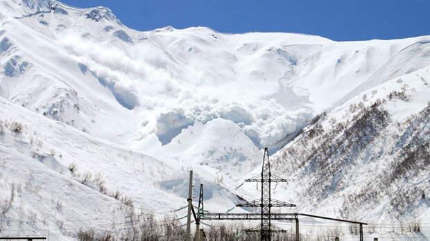 Лавина заблокировала горный курорт в Баварских Альпах