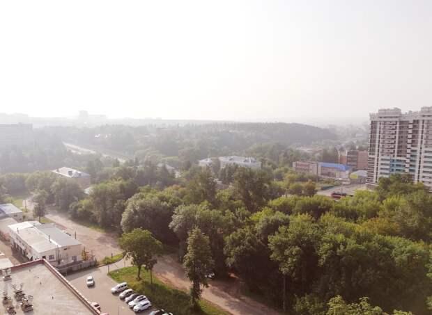 Не туман: дым от лесных пожаров в Сибири накрыл Ижевск