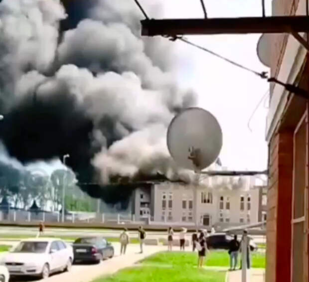В Кореновске загорелся детский сад