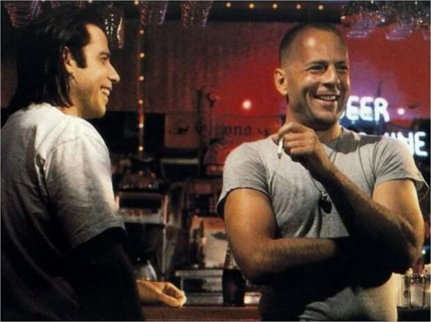 Брюс Уиллис и Джон Траволта встретятся на съёмочной площадке спустя 27 лет после «Криминального чтива»