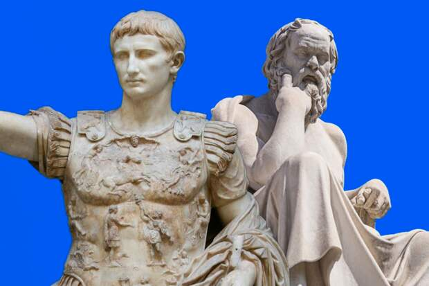 Почему греки носили бороду, а римляне нет