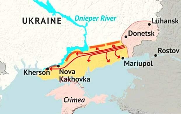 В России оценили слова Зеленского о создании сухопутного «коридора» в Крым через Украину