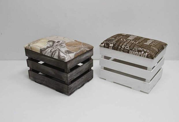 Пуфы и банкетки в прихожую: как правильно выбрать подходящую модель (100 фото)