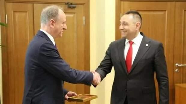 Патрушев заявил оплодотворном взаимодействии России иСербии наБалканах