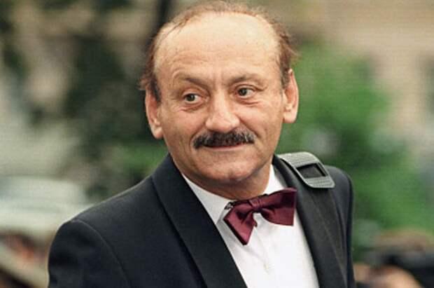 Гость XXI Московского международного кинофестиваля, актер театра и кино Семен Фарада. 1999 год.
