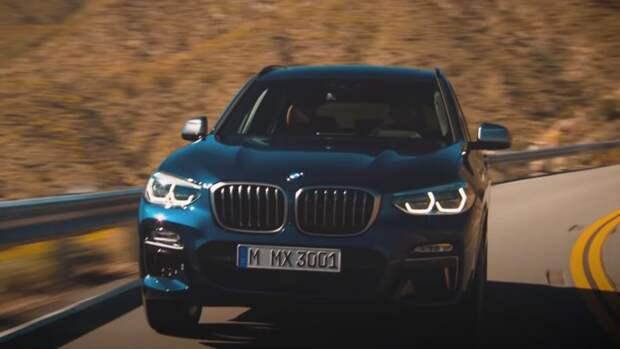 Рассекречен облик модернизированного кроссовера BMW X3