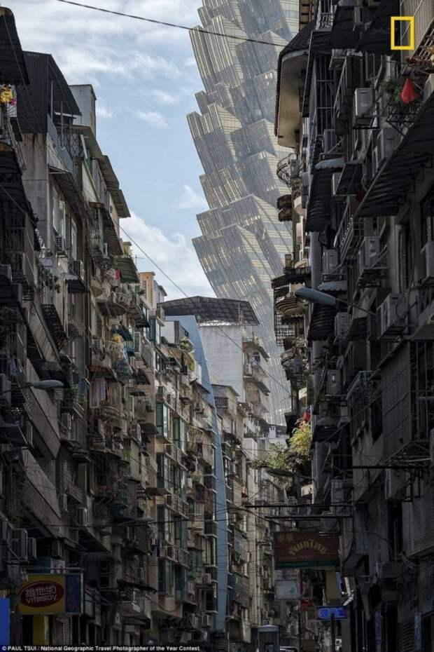 Обычный квартал Китая, который похож на вторжение пришельцев