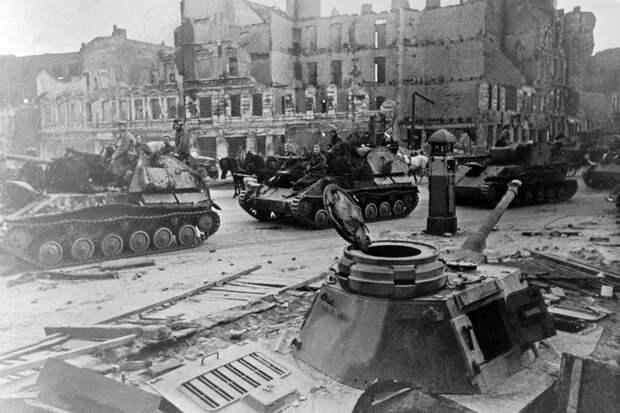 Штурм Берлина потребовал от Советской армии особой изобретательности