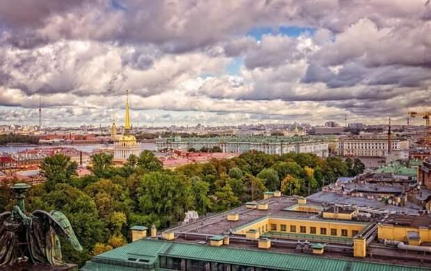 Петербуржцев предупредили о ветре до 15 метров в секунду