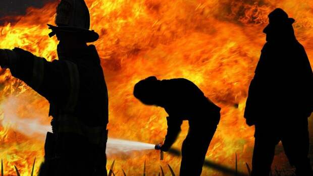 Пожар на Петергофском шоссе в Петербурге унес жизнь человека