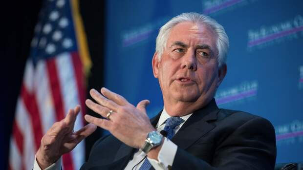 Тиллерсон: США не снимут санкции с России до возвращения Крыма