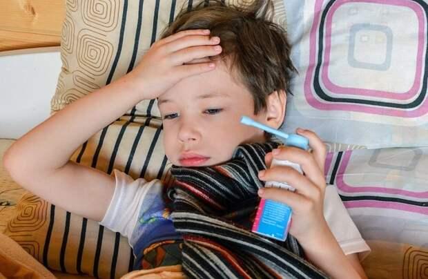 В РФ участились тяжелые случаи COVID-19 у детей