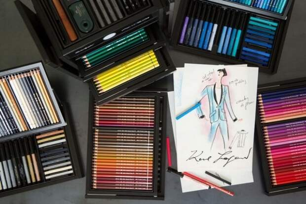 The Karlbox:  набор модельера от Faber-Castell