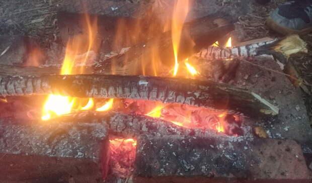 В Орске почти три часа боролись с пожаром в жилом доме