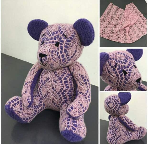 Оренбургский пуховый... Медведь...
