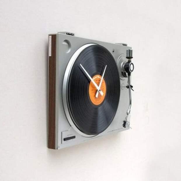 Креативные настенные часы (подборка)
