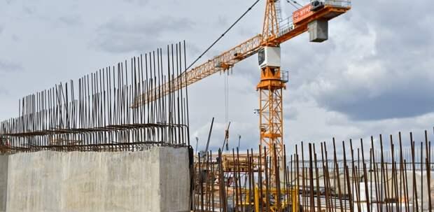 Началось строительство дома по реновации в районе Марфино