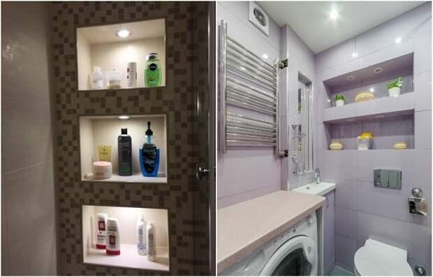 Не только для сантехники: Как разместить в крохотной ванной все необходимое