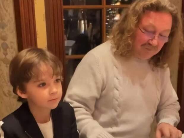 Два композитора: Гарри Галкин сыграл на фортепиано с Игорем Николаевым (Видео)