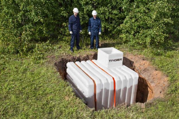Пластиковый погреб – преимущества и особенности конструкции