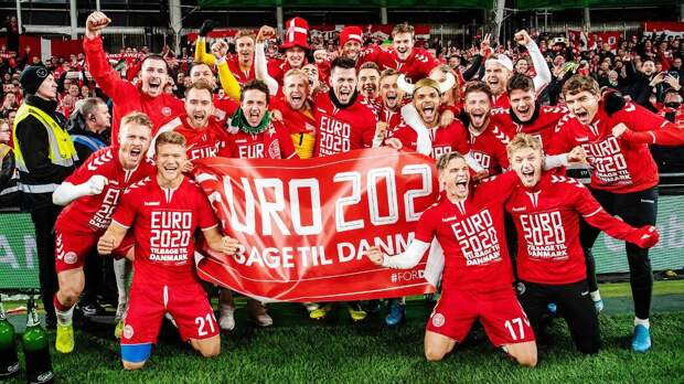 Назван состав сборной Дании на чемпионат Европы — 2020