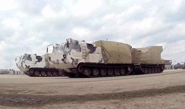 Арктические подразделения получат РСЗО «Торнадо-Г» на шасси ДТ-30ПМ