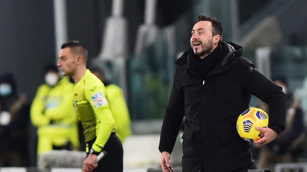 Тренер «Сассуоло» заявил о нежелании играть с «Миланом»