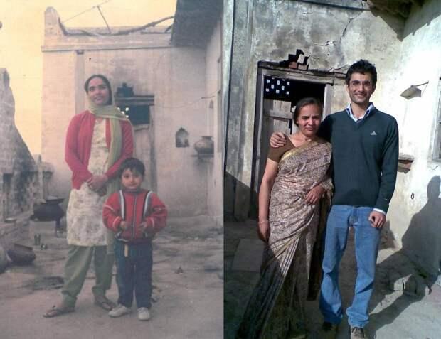 25 фотографий людей в стиле «тогда и сейчас», чьи отношения прошли испытание временем