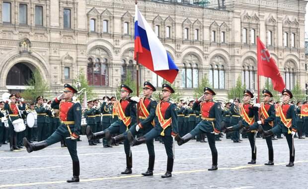 На Красной площади началась подготовка к параду Победы