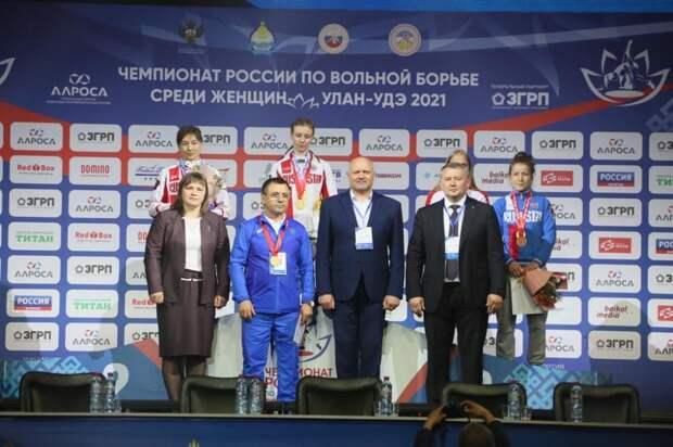 Крымчанка Вероника Гурская выиграла чемпионат России по женской борьбе