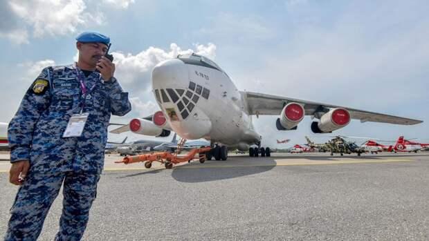 Самолет Ил-76 наLIMA'19