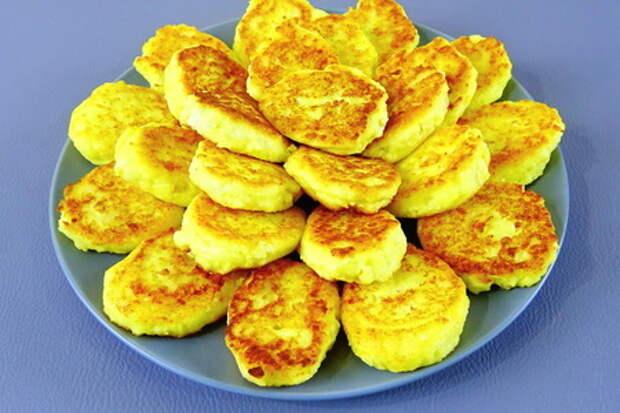 Вкусные сырники из картошки и творога