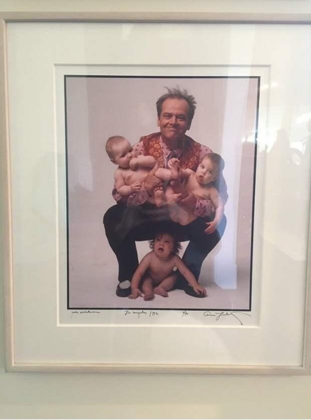 Джек Николсон и дети необычные вкусы, отцы и дети, родители, родительский дом, смешно, странные вещи, что это такое: загадочные предметы, юмор