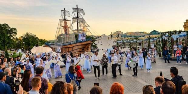 Собянин: В «Николин день» москвичи запустили 3300 бумажных корабликов. Фото: mos.ru