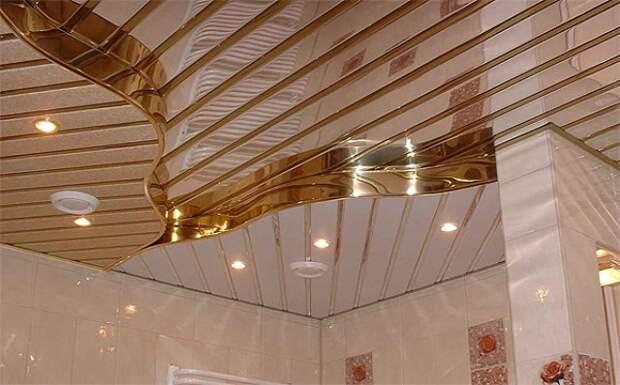 Широкое применение реечных материалов в строительстве