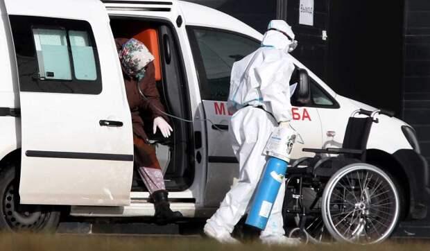 Число заразившихся коронавирусом в России выросло на 20,9 тысячи